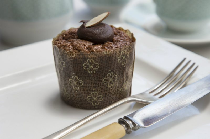 Chocolate Almond Muffin